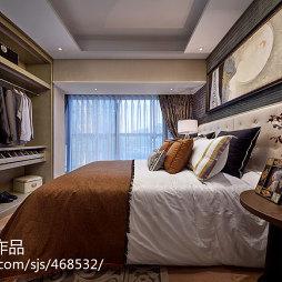 样板间混搭卧室装修设计