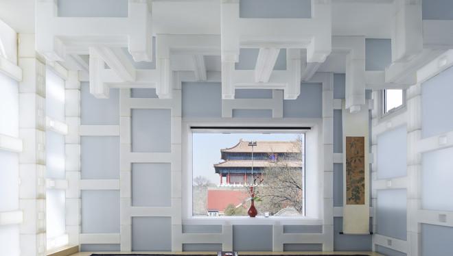 隈研吾—北京tea house