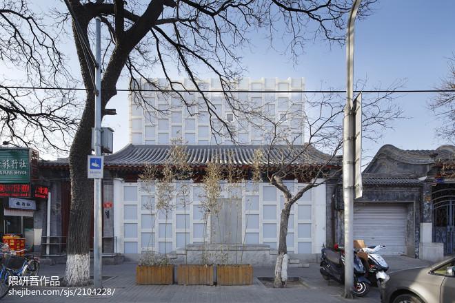 隈研吾—北京tea house_17