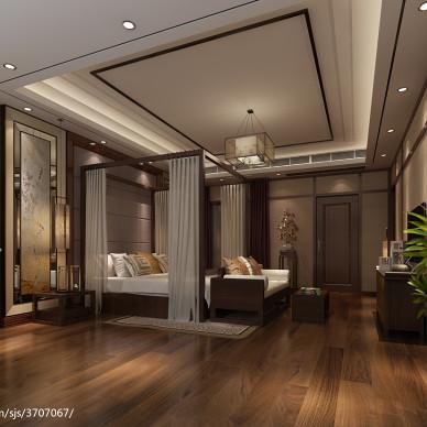 仿实木地板装修设计效果图