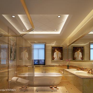 卫生间瓷砖效果图图集