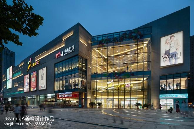 购物商场建筑外观设计