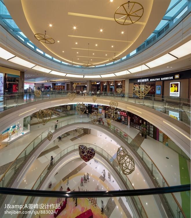购物商场中庭空间设计