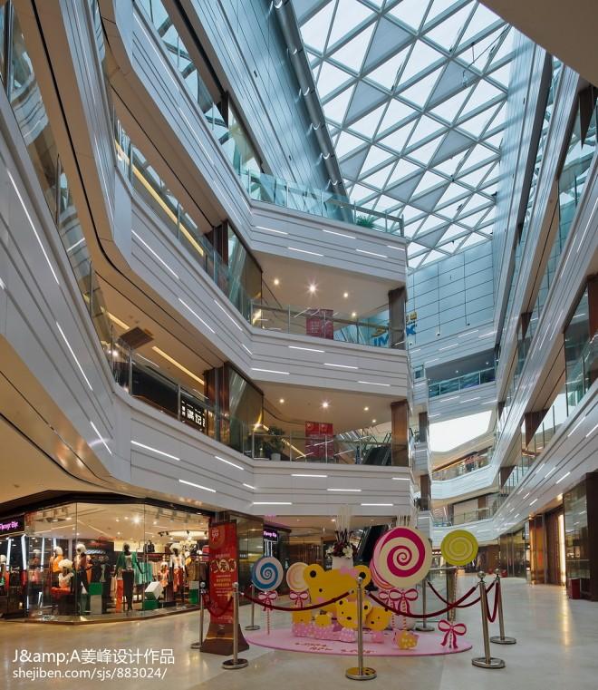 购物国际广场室内设计