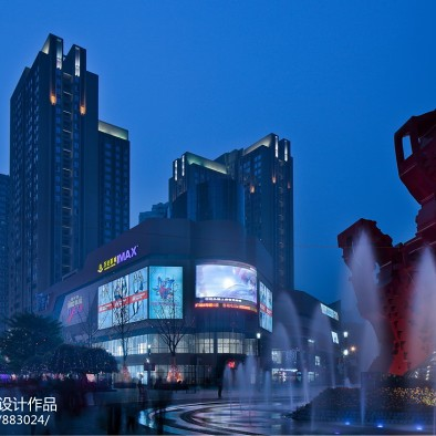 姜峰—重庆新天泽国际广场室内设计