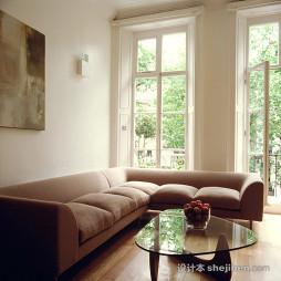 客厅高档门窗装修设计