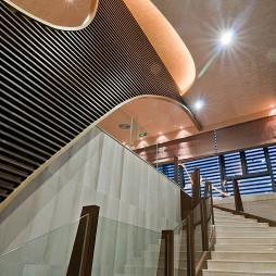 售楼中心楼梯设计