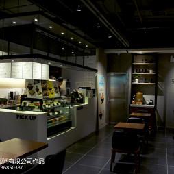 咖啡厅收银台装修设计图片