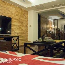复式宅邸现代客厅设计