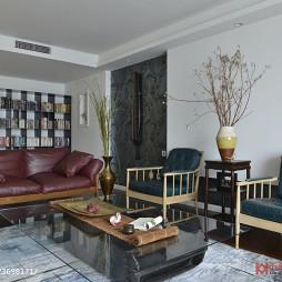 混搭现代客厅装修设计
