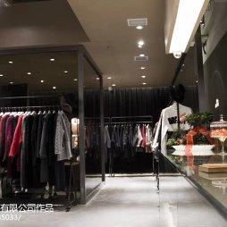 品牌服装专卖店吊顶装修设计