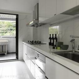 现代厨房装修效果图图片大全