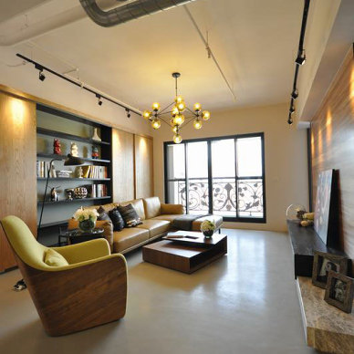 loft设计效果图片欣赏