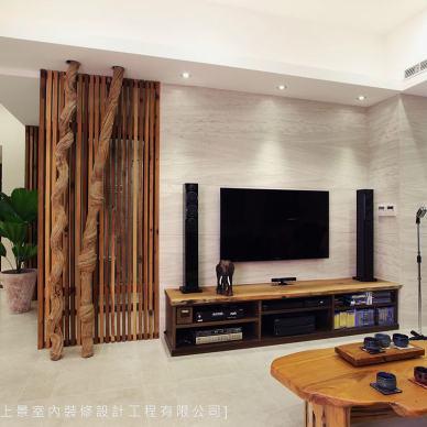 电视墙简单造型效果图库欣赏