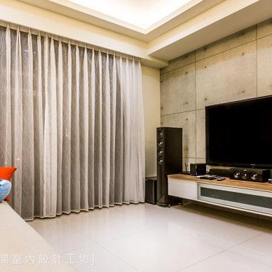 电视墙简单造型效果图片欣赏