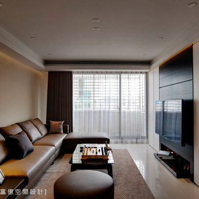 室内装修现代简约效果图集欣赏