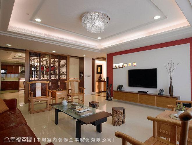 现代型客厅设计图片