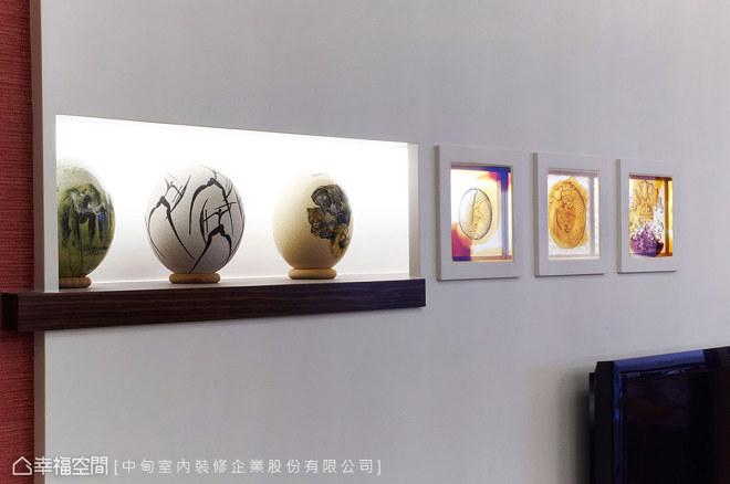现代型琉璃摆饰设计图