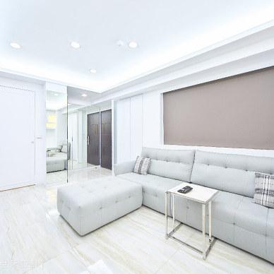 现代优雅客厅装修设计图