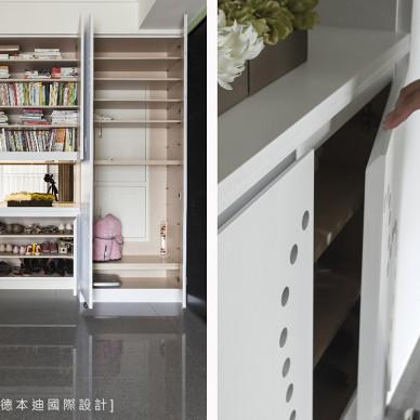 美式混搭收纳柜设计图片