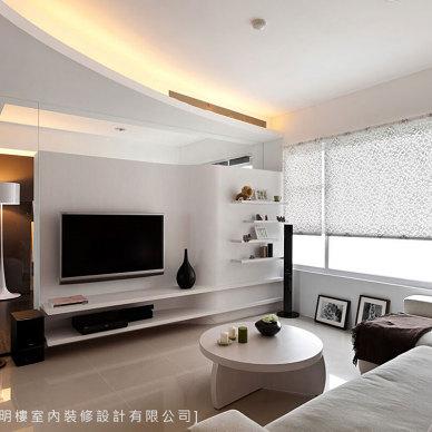 现代风电视墙装修设计图大全