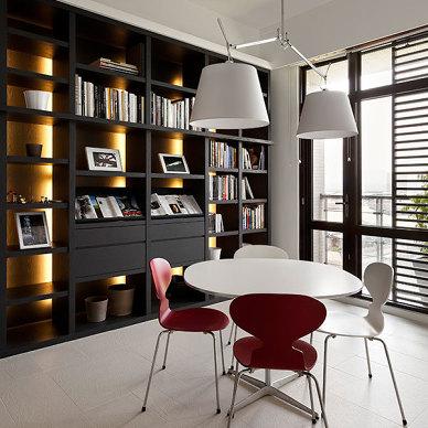 现代风书房设计图
