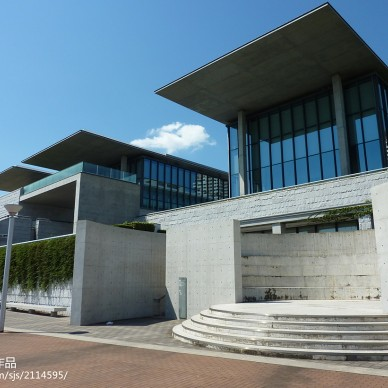美術展覽館外觀效果圖片