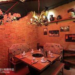 混搭风格中餐厅装修设计效果图大全欣赏