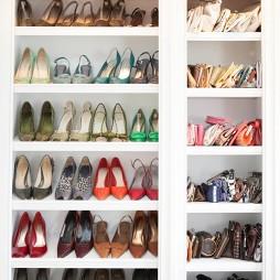 家用鞋架图片库