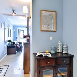 美式简约客厅过道装修设计