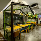 AI爱卡餐轻食咖啡厅设计