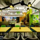 AI爱卡餐轻食咖啡厅设计效果图