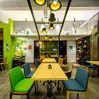 AI爱卡餐轻食咖啡厅装修图片欣赏