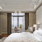 欧式风格卧室隔断装修