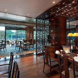 精品酒店中餐厅装修设计