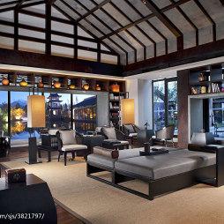 中式度假酒店装修设计