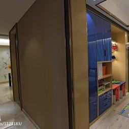 现代奢华风格儿童房隔断设计