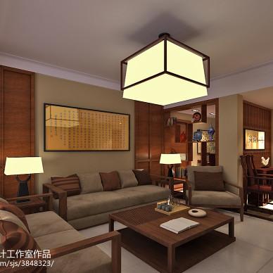 红木家具客厅效果图