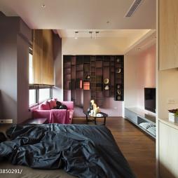 现代简约风格卧室客厅装修设计