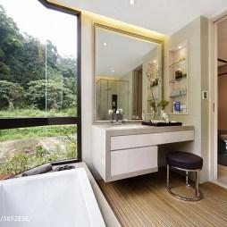 现代样板间卧室装修设计