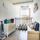 地中海风格休闲区阳台装修设计