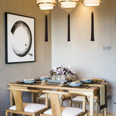 中式餐厅设计家装效果图大全