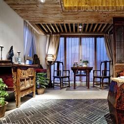 混搭中式复古饭店设计
