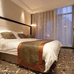 高级大饭店客房窗户装修设计