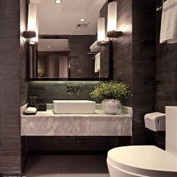 高级大饭店卫生间装修设计