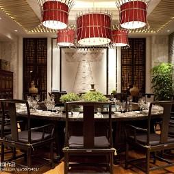 高级大饭店包房装修设计