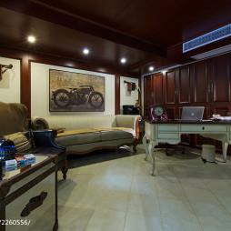 美式别墅过视听室装修设计