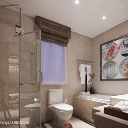 样板间中式卫生间装修设计