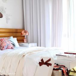 別墅混搭臥室窗簾廳設計