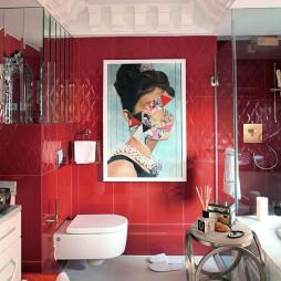 混搭公寓卫生间装修设计